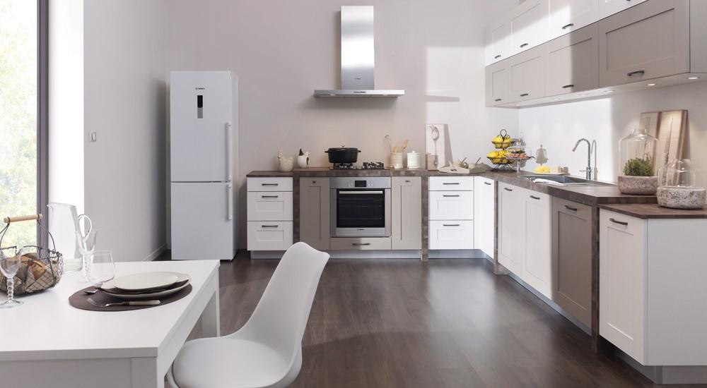 Cuisine meuble blanc cuisine actuelle cuisine moderne for Model cuisine equipee