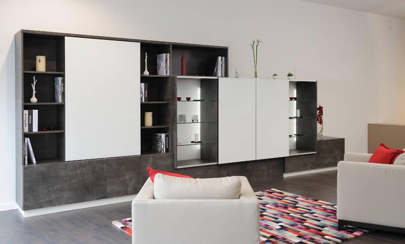 meubles tv meubles de salon et rangements sur mesure. Black Bedroom Furniture Sets. Home Design Ideas